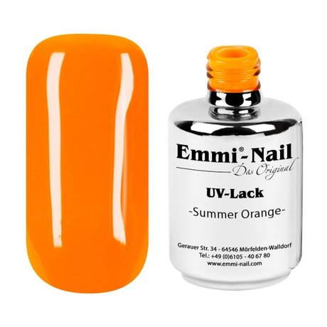 Гел-лак UV-Polish/UV-Lack Summer Orange