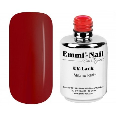 Гел-лак UV-Polish/UV-Lack Milano Red
