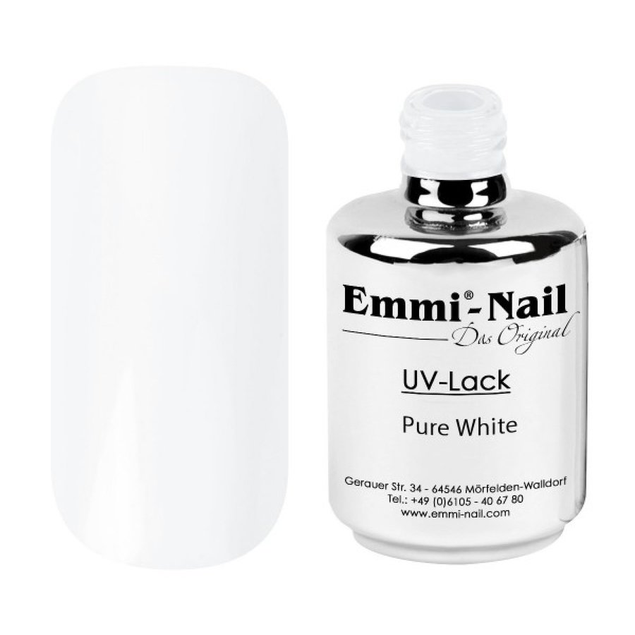 Гел-лак UV-Polish/UV-Lack Pure White